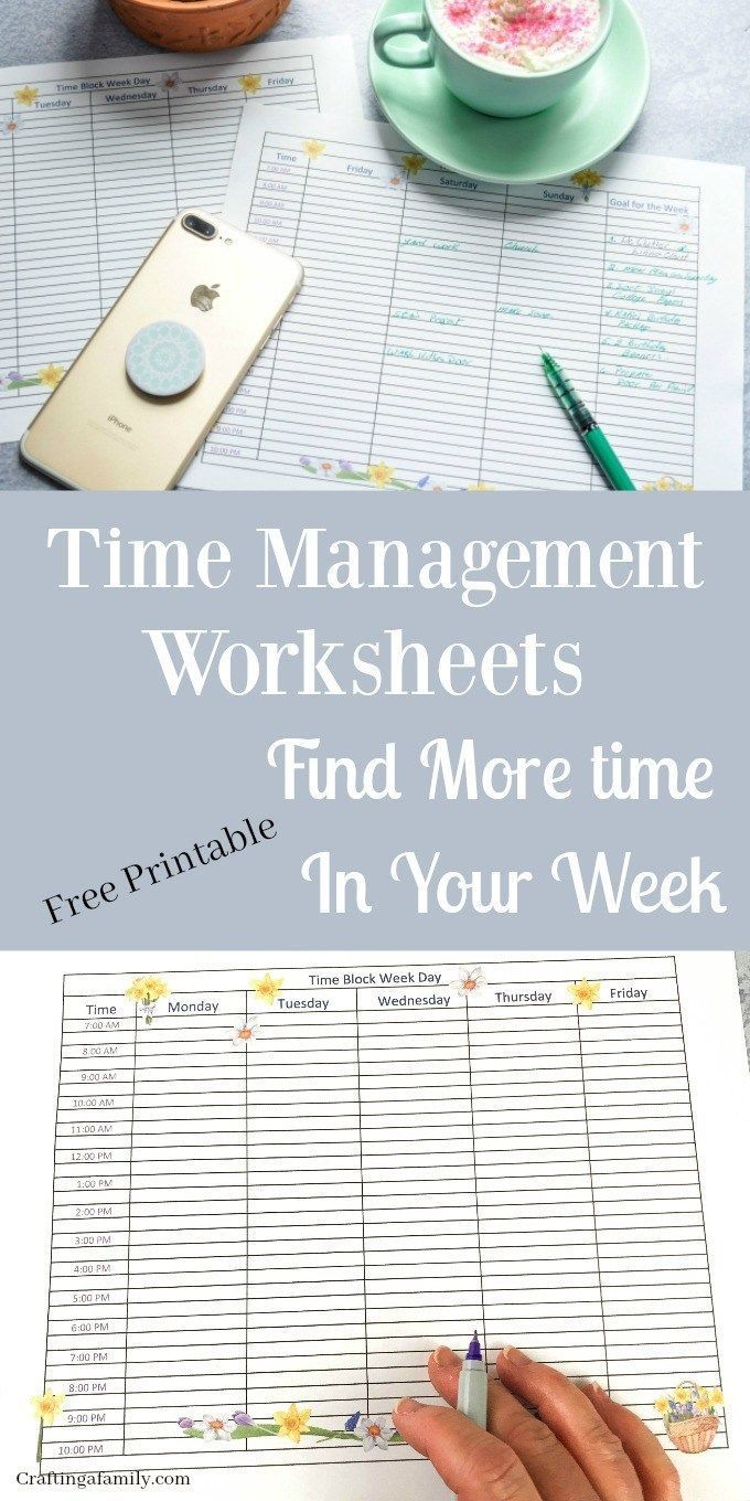 Spring Is A Time For New Beginnings It Is A Time For New Beginning To Get Productive Plan Time Management Worksheet Organizing Time Management Time Management