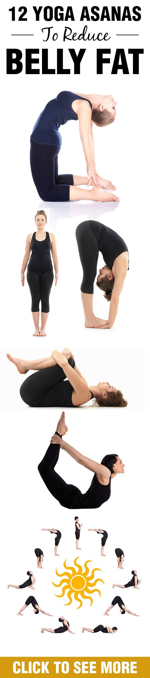 12 Simple Yoga Asanas To Reduce Belly Fat | Health, Losing ...