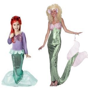 how to make a mermaid halloween costume - Mermaid Halloween Costume For Kids