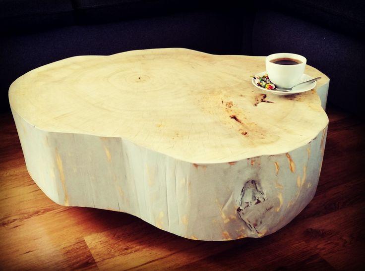 Stolik kawowy#coffe#kawa#drzewodesign#
