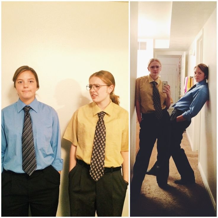 Dwight and Jim for Halloween was the best idea ever. THE OFFICE.