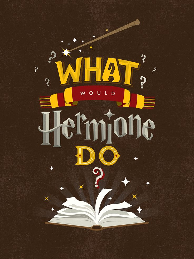 betype:    What Would Hermione Do? by  May L
