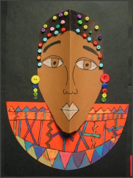 86 best african black history art projects images on for Black history month craft