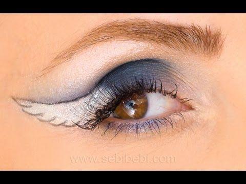 """Melek Kanadı, """"Angel Wings eyeliner"""""""