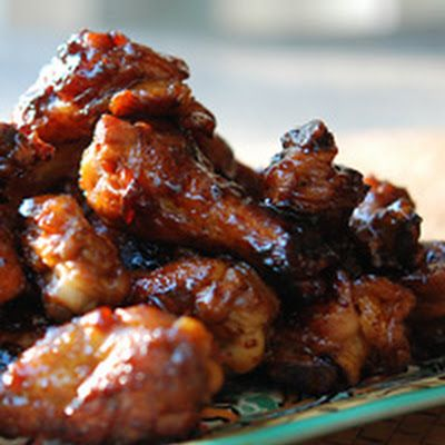 One-Pot Sticky Chicken Wings, I think this can be converted to a crock pot method!