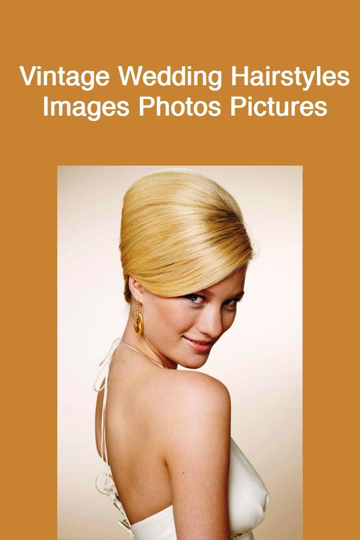 Vintage Hochzeit Frisuren Bilder Fotos Bilder # Mode # Hochzeit Dekor # Make-up # Augen Make-up # Thumbnail Art