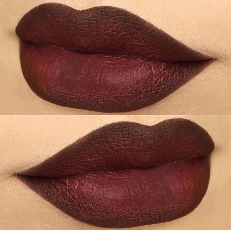 MAC lip liner in Chestnut and MAC Sin
