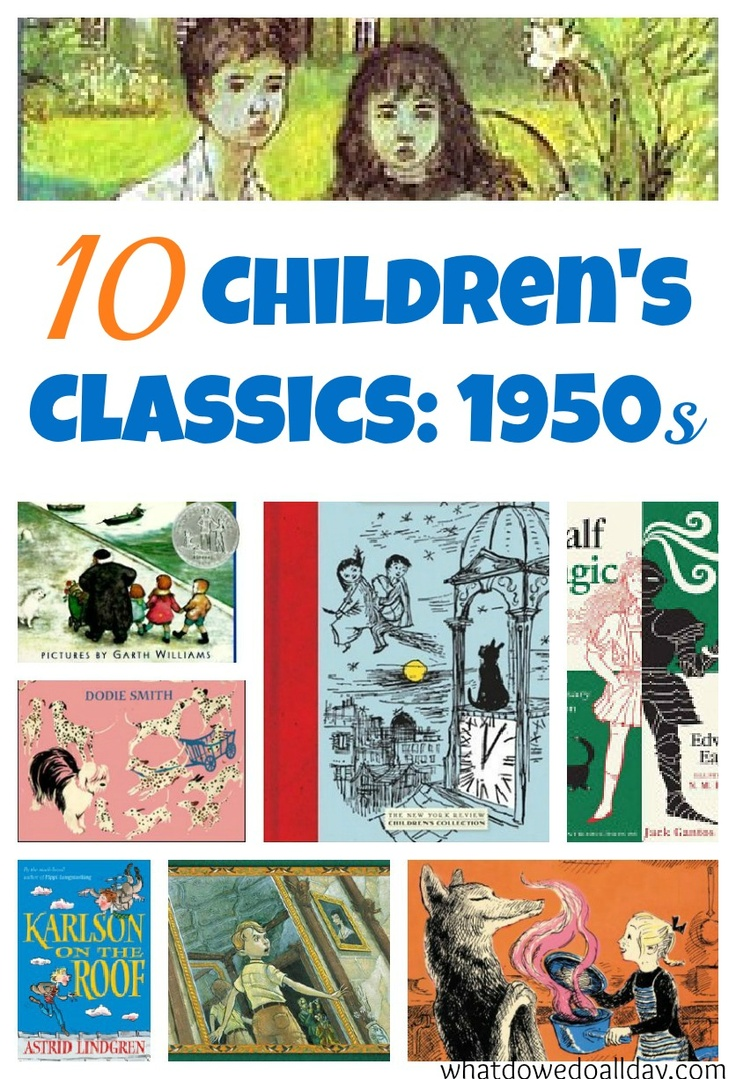 10 Classic Children's Books 1950s {from What do we do all day?}
