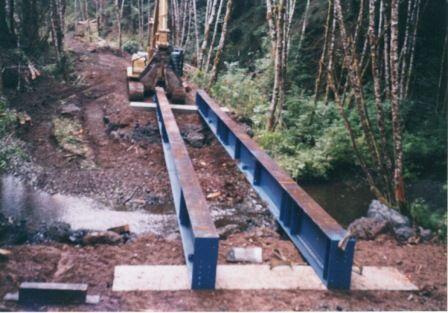 Image result for Steel I beam Bridge designs