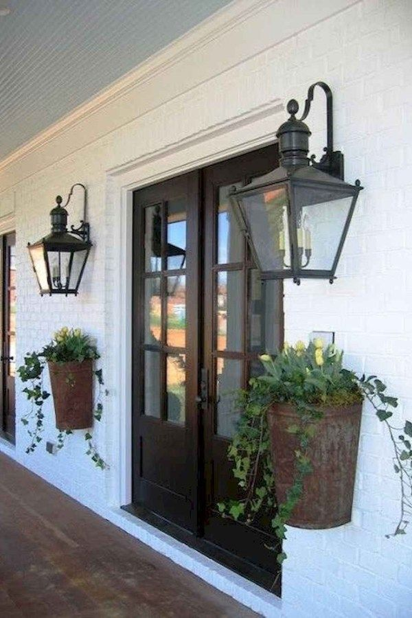 110 Supreme Farmhouse Porch Decor Ideas 36 Porch Wall Decor Modern Farmhouse Exterior Farmhouse Porch