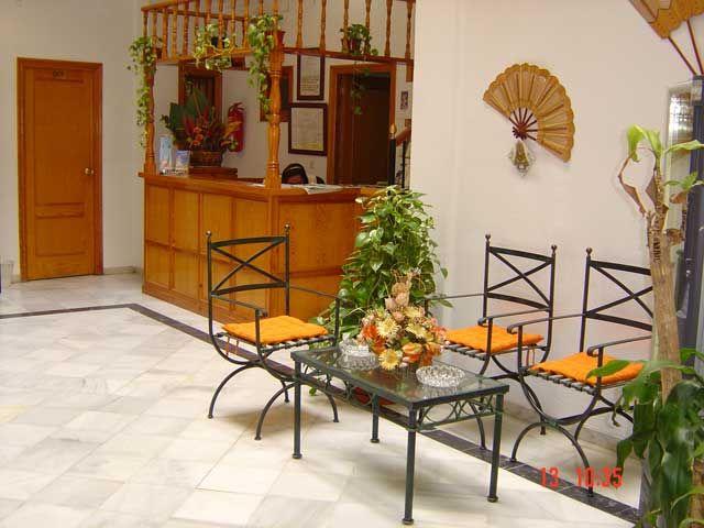 Hostal Paris Sevilla Reception
