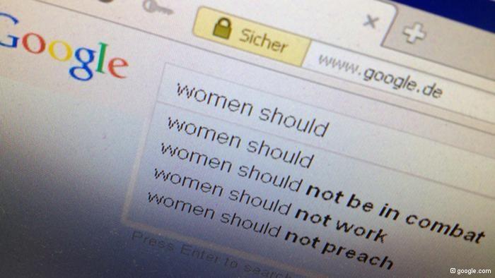 ¿Son machistas los buscadores de Internet?