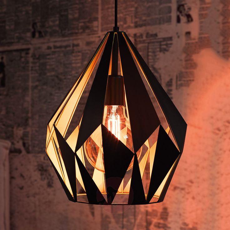 Callum Pendant Lamp Black and Yellow-Pendant Lighting-3031608-30