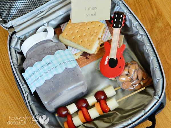 Lunch Box Heros: 8 cute lunch ideas   How Does She...