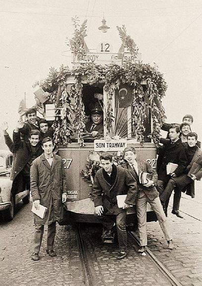 Son Tramvay (1966, İstanbul) #istanlook