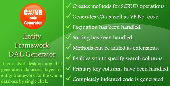 Entity Framework DAL Generator