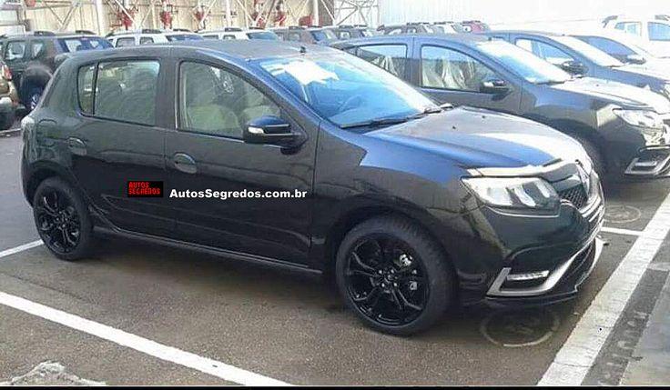 Renault já estoca o Sandero RS em São José dos Pinhais (PR)