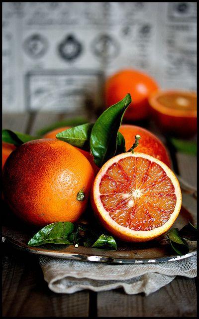 Naranjas de sangria