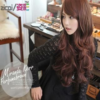 Buy 'Aura Wigs – Long Full Wig - Wavy' with Free International Shipping at YesStyle.com. Browse and shop for thousands of Asian fashion items from China and more!