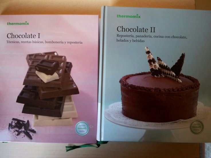 Libros chocolate thermomix
