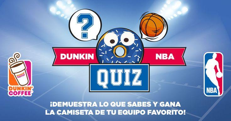 Demuestra lo que sabes de basket y gana la camiseta de tu equipo favorito #DunkinNBAquiz