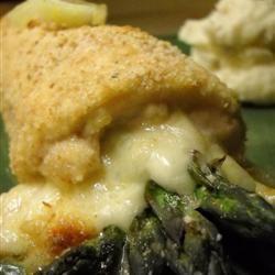 Chicken Asparagus Roll-Ups Allrecipes.com