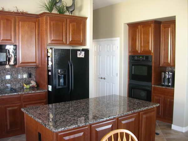 Using Decorating Ideas Kitchen With Black Appliances : Kitchen With Black  Appliances By Design Refrigerators