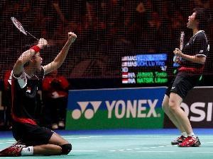 Tontowi Ahmad / Lilyana Natsir All England Champions