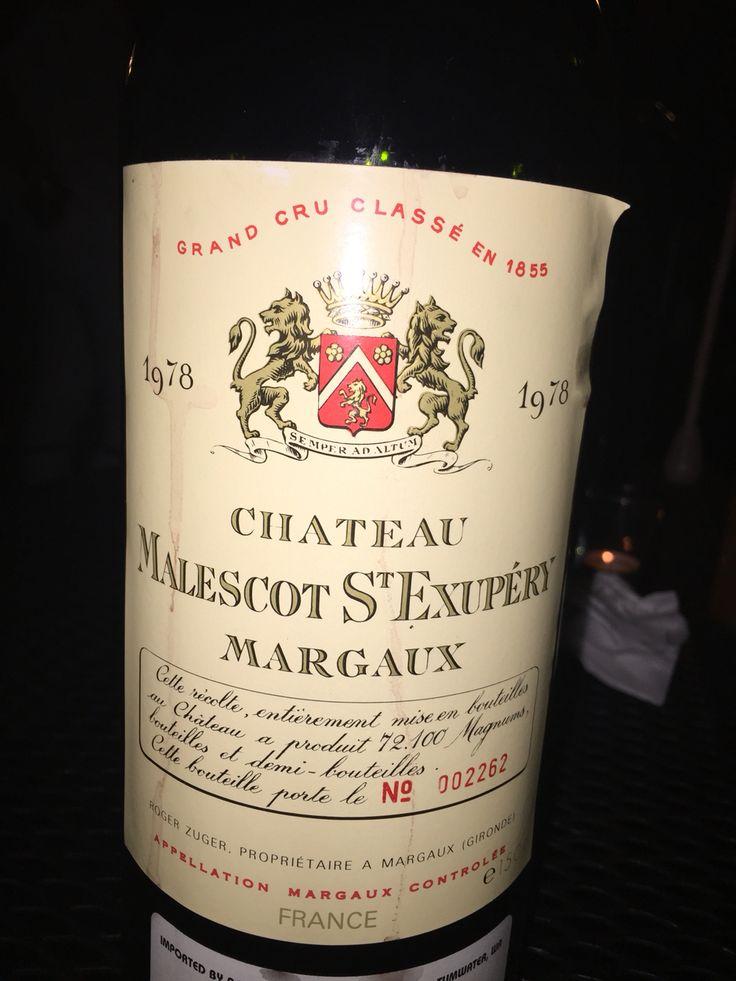 Chateau Margaux 1978