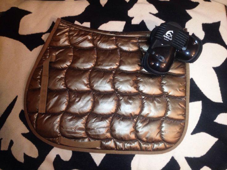 QHP Saddle Pad, Acavallo Fetlock Boot