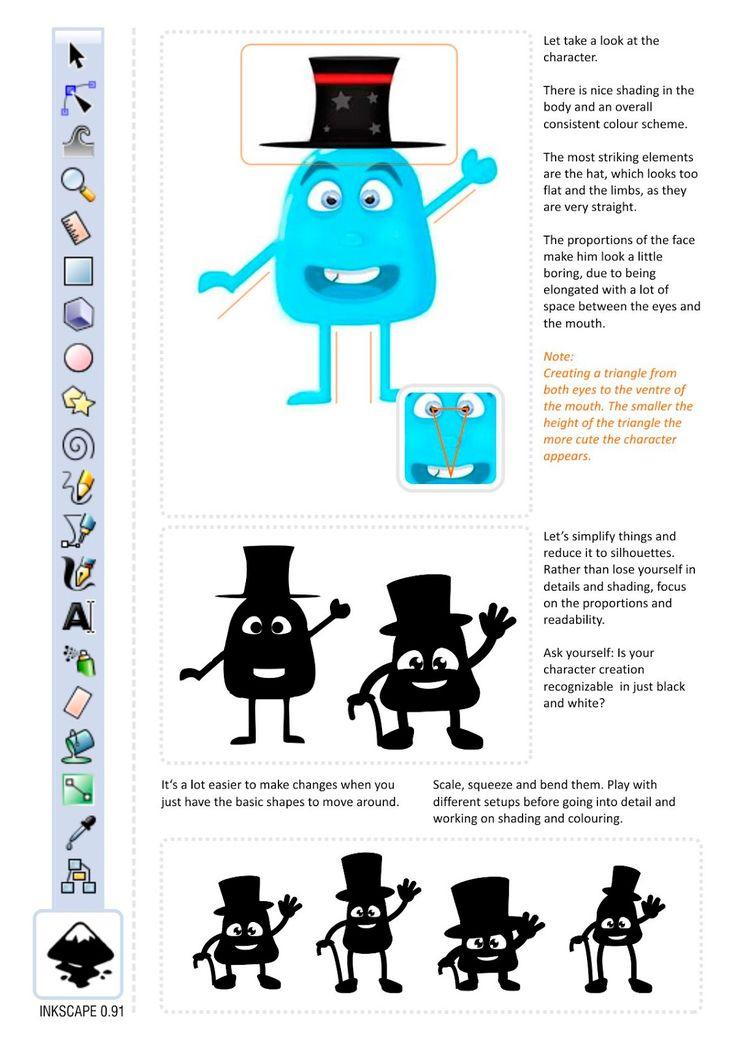 キャラクターデザイン-いくつかのヒントとコツ  – 2D GAMEART