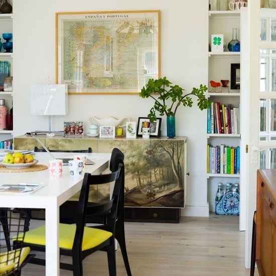 Captivating Creative Vintage Dining Room
