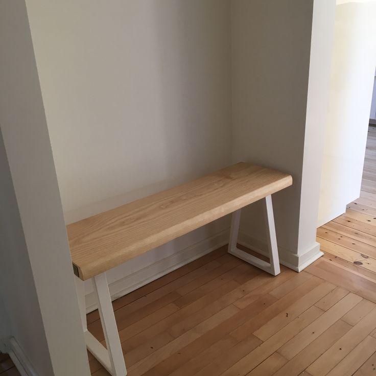 Custom bench made for a client  #VintageKBH #Vintage #KBH #Industri #Industrielt #Frederiksberg #Træ #Indretning #Mode #Moderne #Plankebord #Bauhaus #Bolig #Boligindretning #Interiør #Lamper #Møbler #Pynt #Hjem #Wood #Sælges #ChristianDell #Bænk #Bord #Bordben #Woodfurniture #Snedker #Retro #Hylder #Stål #Steel #Genbrug #Bench #Bænk #Hylde #Shelf #Denmark #Danmark