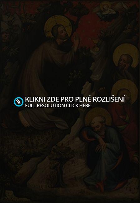 gotické malířství-Ježíš