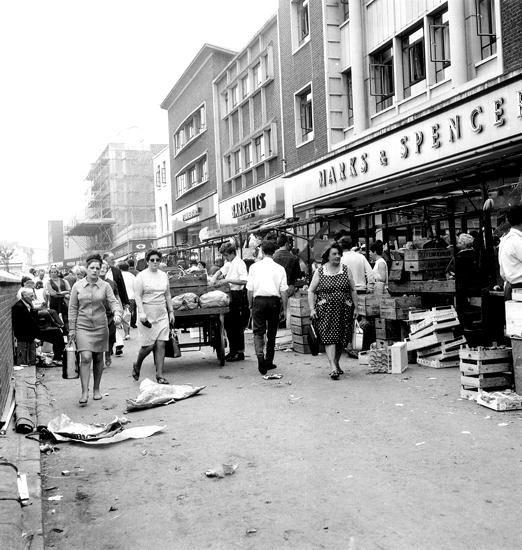 Lewisham market 1968