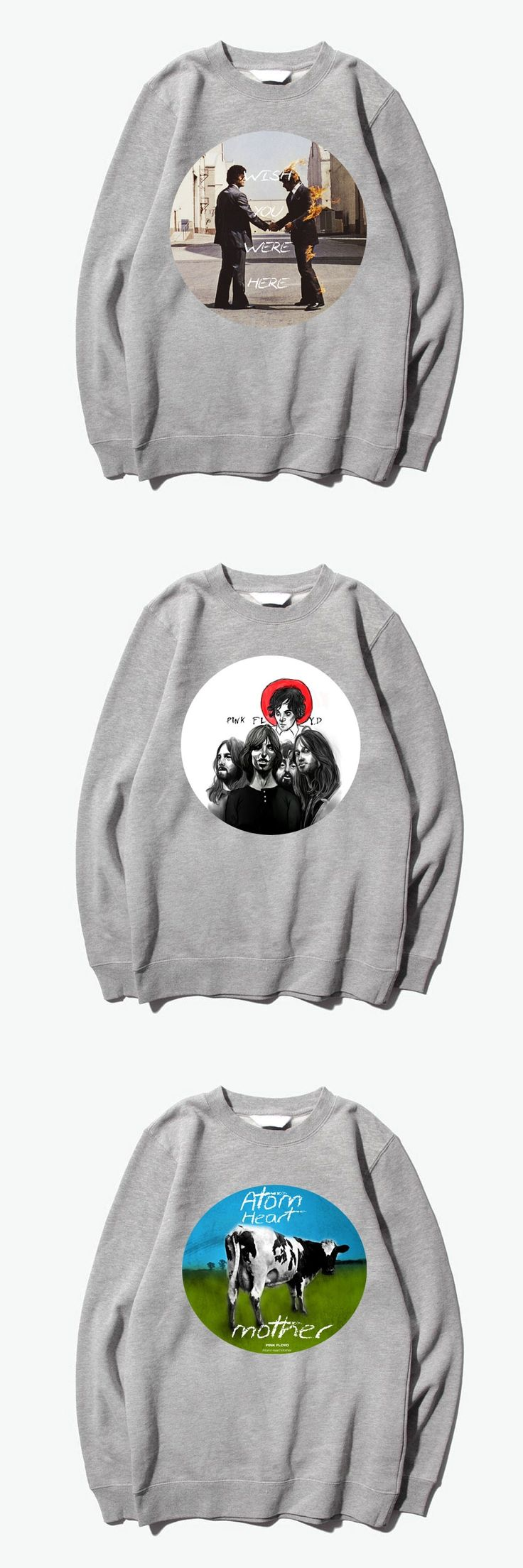 Pink Floyd atom heart mother fashion Hoodies Sweatshirts