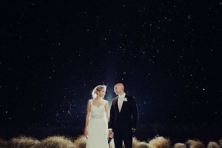 Starry night! By wedding photographer James Simmons