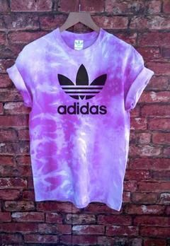 Stag & Bone Adidas Originals Custom Tie Dyed Tee Tshirt from STAGANDBONEAPPAREL