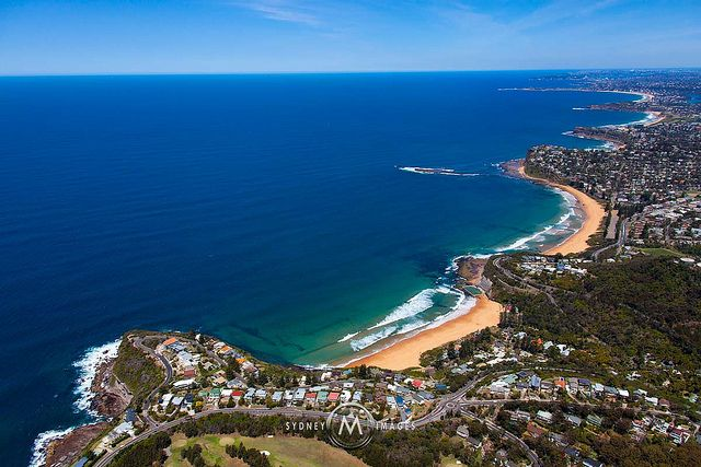 Bilgola, Sydney's Northern Beaches -  Looking South
