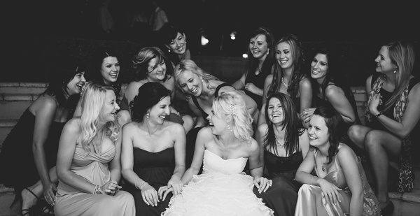 Pieter & Leandri | The Moon and Sixpence Wedding » Louise Vorster Photography Me and my girl friends photo on wedding day