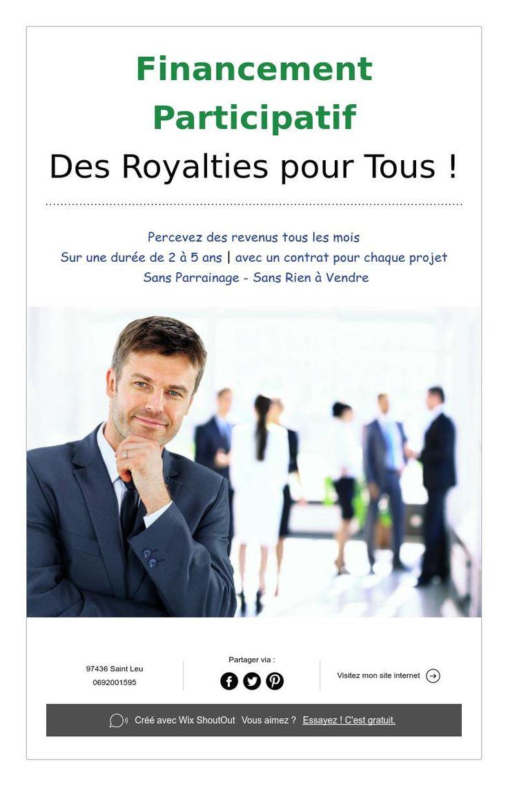 Financement Participatif Des Royalties pour Tous !