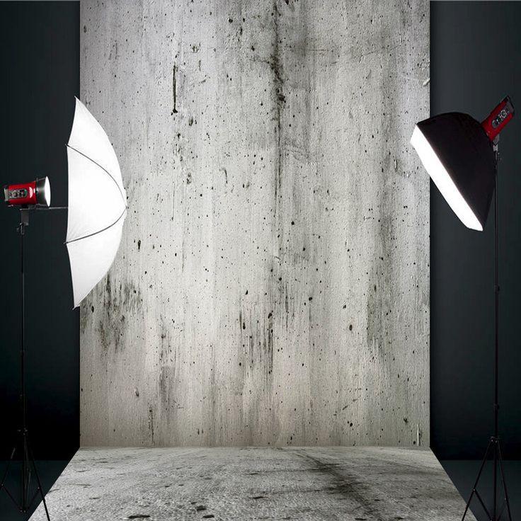 1.5x2.1m 5x7ft muro di cemento grigio mortaio studio fotografico in vinile sfondo sfondo