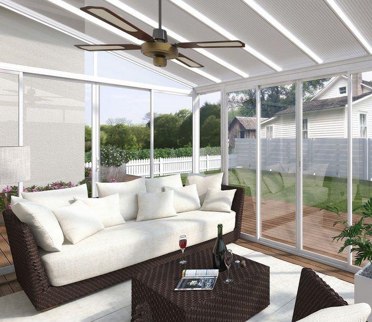 Superb Palram SanRemo 3x5.46 White Veranda. Enclosed PatioGarden ...