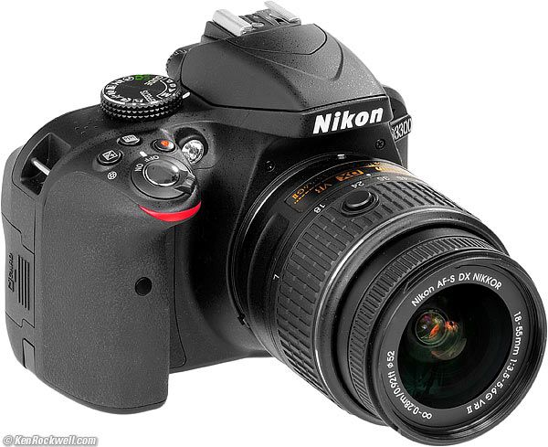 Nikon D3300 ~ highly recommended as best value for most amateur photography needs ~ ken rockwell