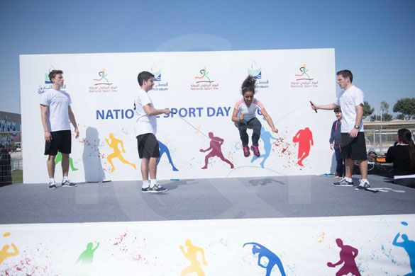 Doha national sport day entertainment | Entertainment agency | Corporate entertainment