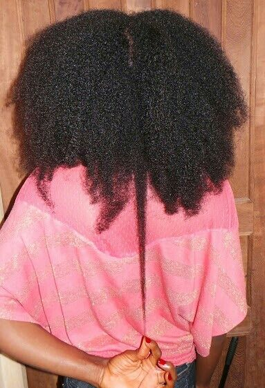 Hadassah from Nigeria // 4C Natural Hair Style Icon | Black Girl with Long Hair. Long 4c hair. type 4c hair. Natural hair shrinkage. kinky hair. long kinky hair. hair shrinkage.