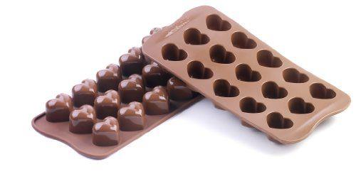 For homemade gummies:   Silikomart Silicone Chocolate Heart Mold Silikomart,http://www.amazon.com/dp/B0015PPPCC/ref=cm_sw_r_pi_dp_svs7sb1NVRB1CFWX