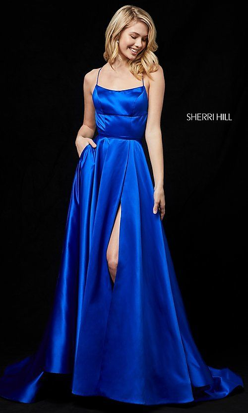 650e9183cdf Long Open-Back Sherri Hill Prom Dress in 2019