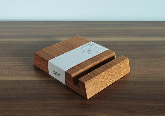Wooden iPad Stand Natural Oak Wood by BatelierHandicraft on Etsy, $12.00