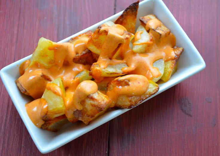Another Patatas Bravas Recipe from Spain. Tapas.